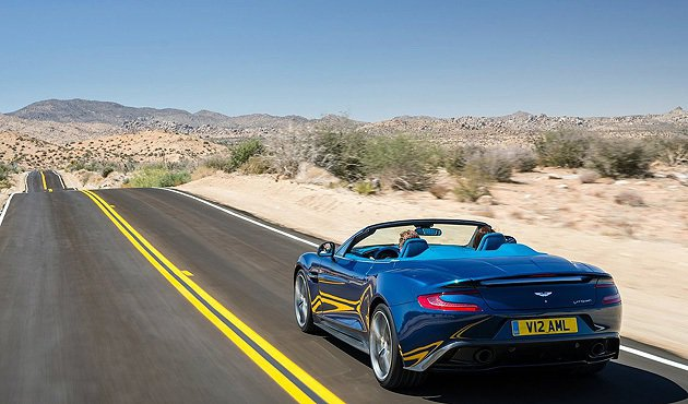 Vanquish Volante維持295km/h極速表現 Aston Mart...