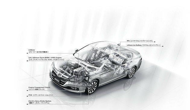 新世代複合動力系統Sport Hybrid i-MMD。 Honda