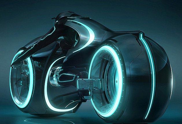TRON光速戰紀中相當令人印象深刻的摩托車。 編輯部