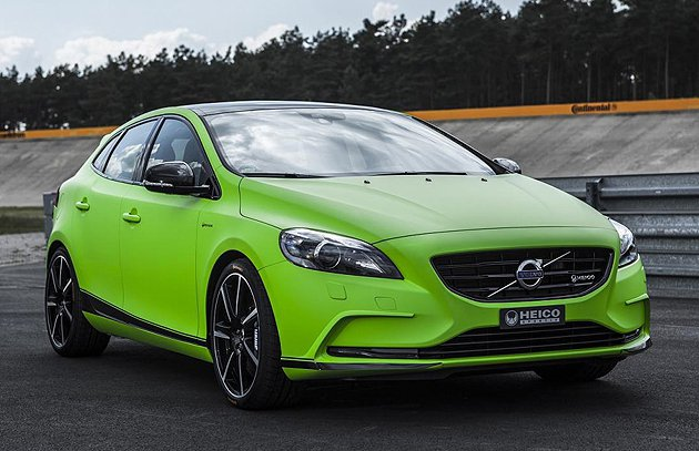 V40性能版已經以套件形式量產。 Volvo