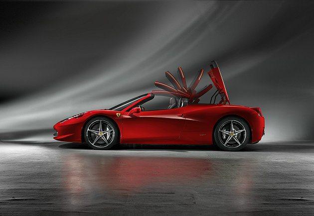 Sport Auto 將Ferrari 458 Spider票選為「2013 S...