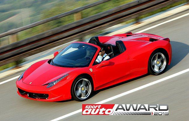 458車型至今囊括全世界超過50個獎項。 Ferrari