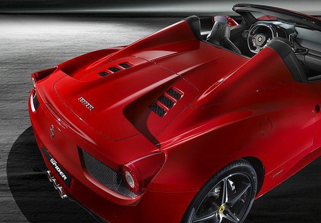 458 Spider還具有出色的低油耗和碳排放表现。 Ferrari