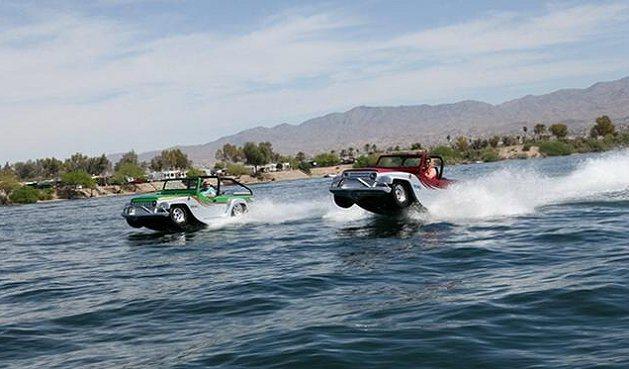 Panther水陸兩棲的設計相當酷。 WaterCar
