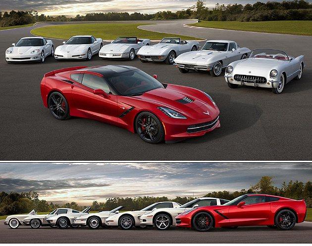 至今七個世代,Corvette依然活耀於車壇。 GM
