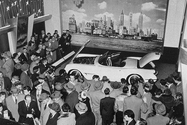 C1的線定量產在當時造成搶購。 GM