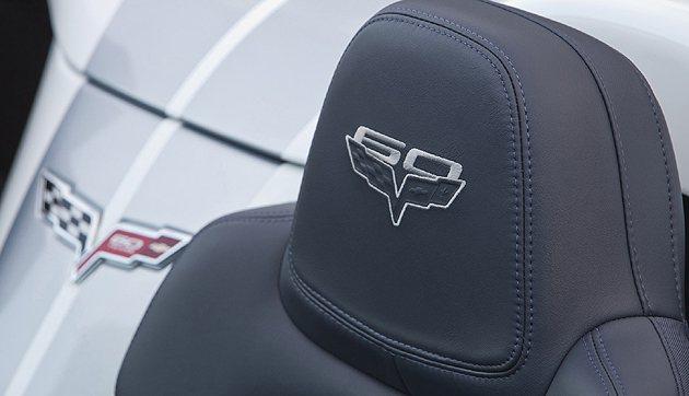 Corvette C7也推出了60周年紀念版。 GM