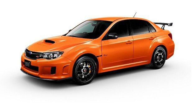 WRX STI tS TYPE RA釋出並在日本販售。 Subaru