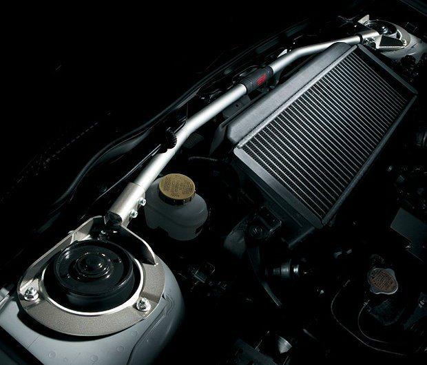 WRX STI tS TYPE RA強化的前下拉桿。 Subaru