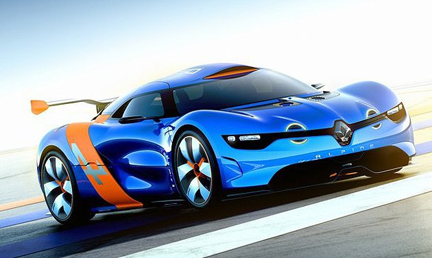 Renault在2012年打造的Alpine A110-50概念車,是用以紀念A...