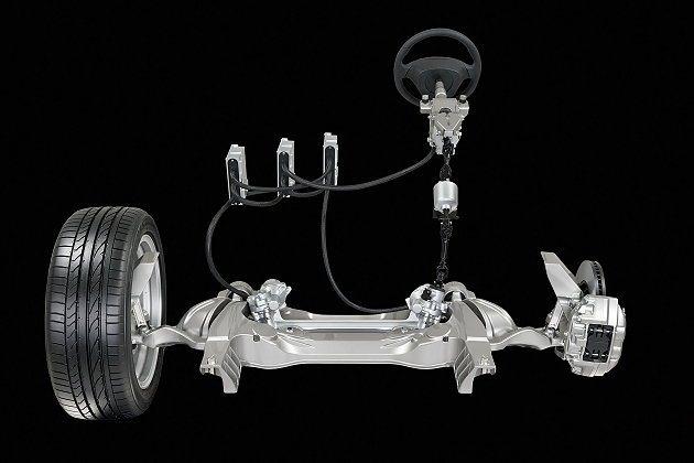 透過電子元件控制,車主能改變轉向的手感。 Infiniti