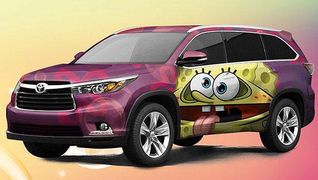 2014 Highlander 海綿寶寶特仕概念 Toyota