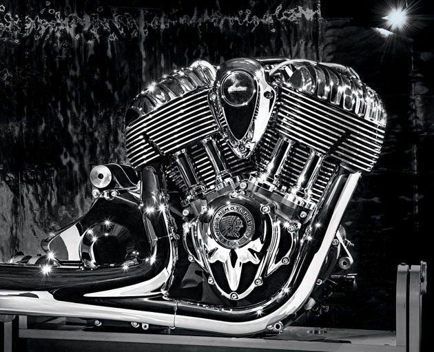 49度夾角氣冷V-Twin引擎Thunder Stroke 111排氣量為181...