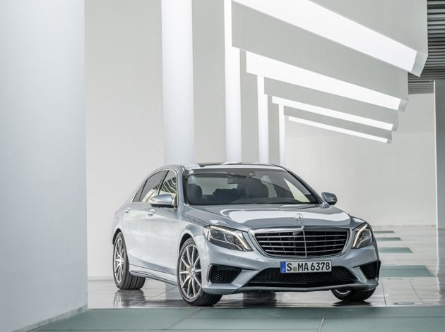 S63 AMG預計將在法蘭克福車展首演。 M-Benz