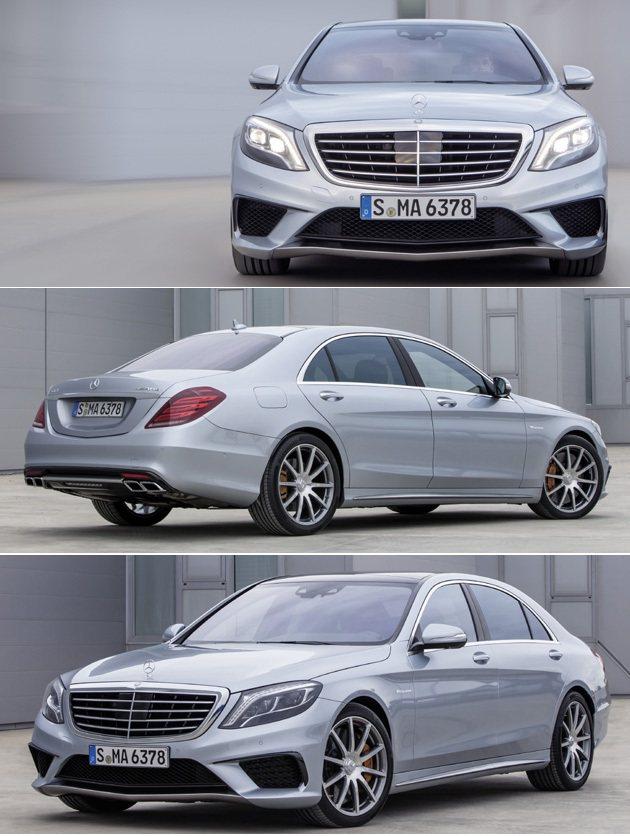 在S-Class的基礎上,S63 AMG更顯豪華GT風格。 M-Benz