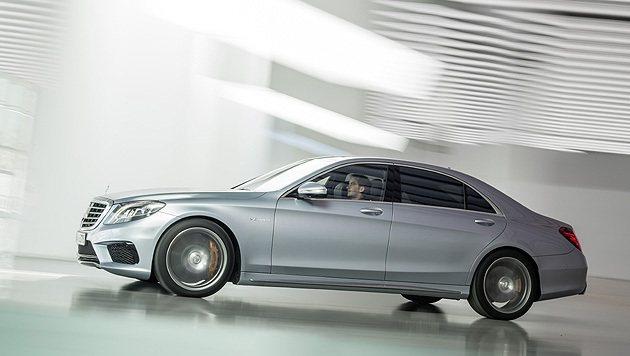 S63 AMG搭載BlueDIRECT系列引擎中最高規格的機型。 M-Benz