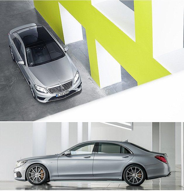 車頂以鋁合金打造,全車輕量達一個成人的重量。 M-Benz