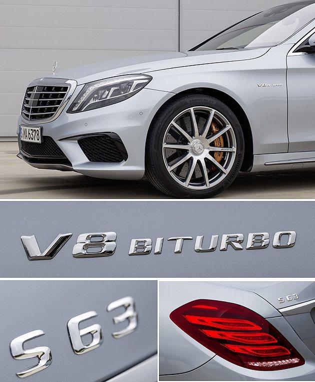 銘牌字體更新,車頭的空力套件有導流片,能強化撞風效益。 M-Benz