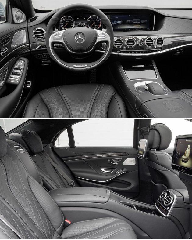 內裝鋪陳依舊豪華,後作雙獨立空間。 M-Benz