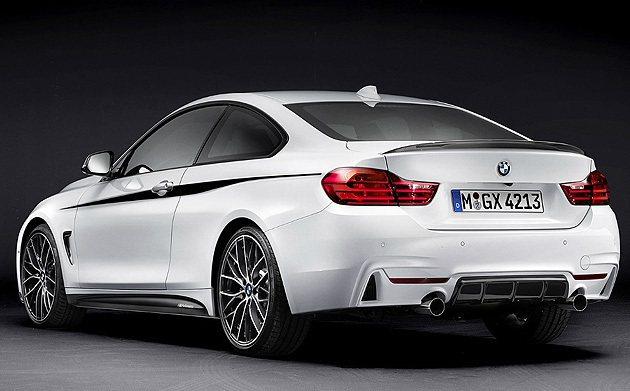 車側也是相當有特色。 BMW
