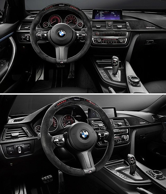 內裝部分,全新三輻方向盤是一大重點。 BMW