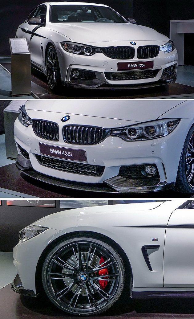 車頭大概就是M4的樣子,車側的進氣口是否有更明顯得M Power識別值得期待。 ...
