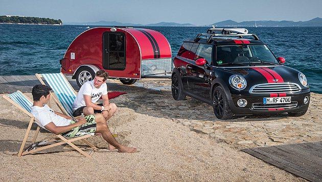 Clubvan Camper是去年MINI愚人節的概念車。 MINI