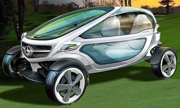 頗有smart fortwo未來的樣子。 M-Benz