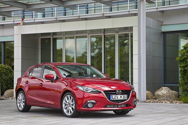Mazda3車頭設計融入家族最新的魂動設計精神。 Mazda