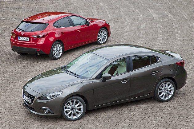 全新Mazda3有較長的軸距,但前後懸掛縮短以營造運動感。 Mazda