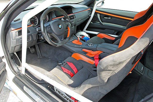 G-POWER M3 GT2 R座艙採取符進FIA規範的籠形結構。 G-POWE...