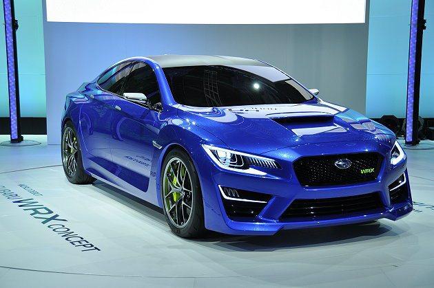 Subaru也將在法蘭克福車展展出次世代WRX雛型WRX CONCEPT。 Su...