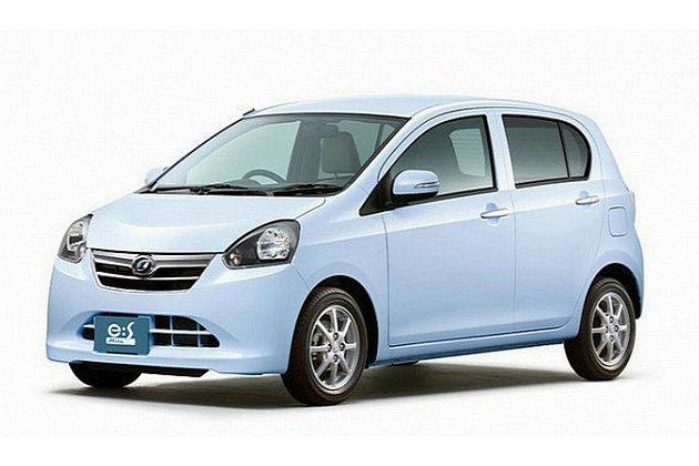 改良過的Mira e:S,平均油耗33.4km/l。 Daihatsu