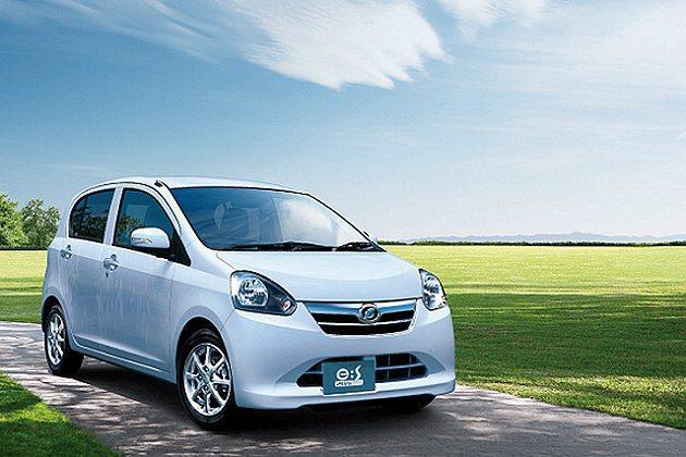節能小車達到駕駛方便又省油的效益。 Daihatsu