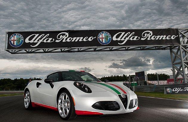 本周末的SBK英國站,將有4C擔任前導車。 Alfa Romeo
