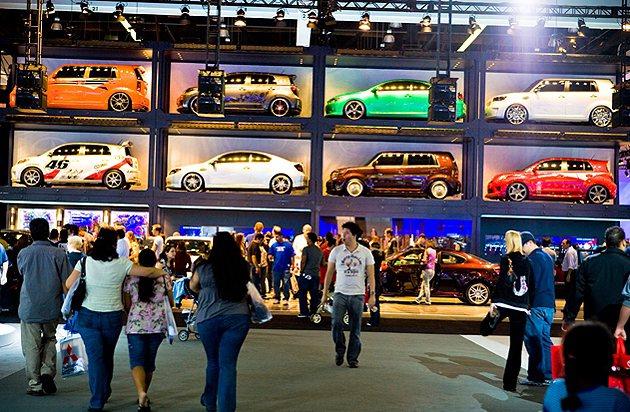 創新的展演方式,是洛杉磯車展令人經驗之處。 LA