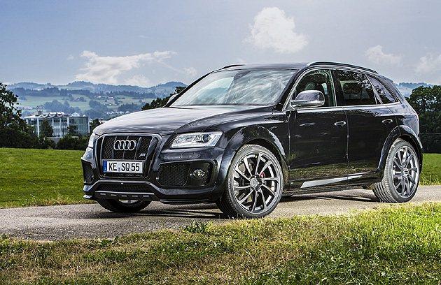 Audi SQ5柴油版也可望導入台灣。 ABT Sportline