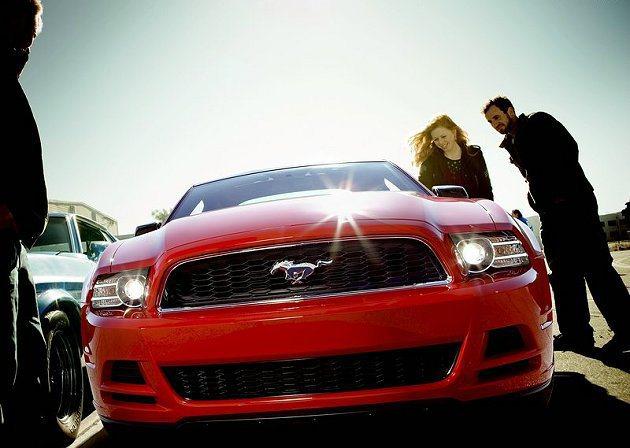 55至64歲嬰兒潮一代人買車的比例最高;圖為Ford Mustang跑車。 Fo...