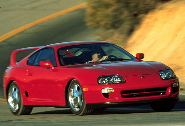 Supra為Toyota經典的渦輪增壓跑車 Toyota