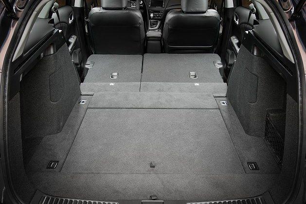 Civic Tourer藉由後座摺疊前傾可創造1668公升最大置物容積。 Hon...