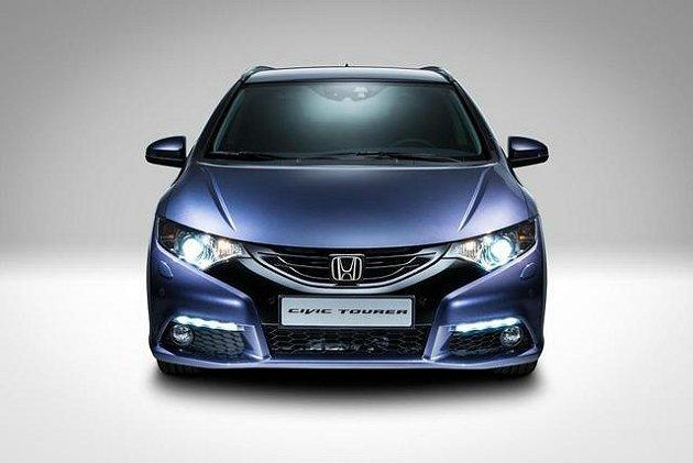 Civic Tourer外型設計很有運動風格。 Honda提供