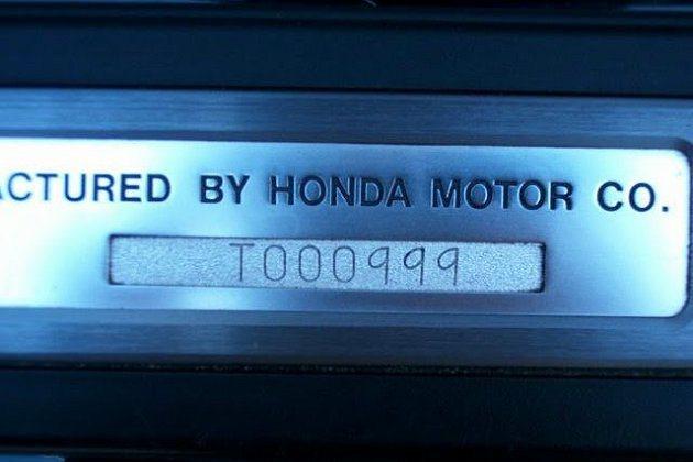 這輛NSX的編號。 eBay