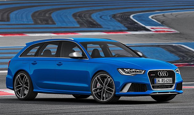 RS6 Avant是許多熱血爸爸心中的完美車款。 摘自Audi