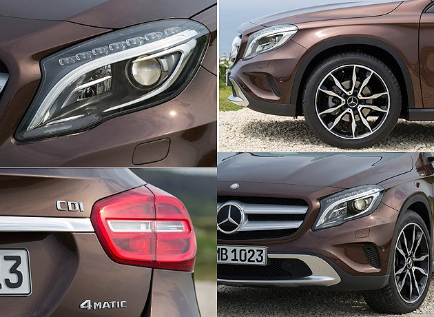 外關細節。 M-Benz