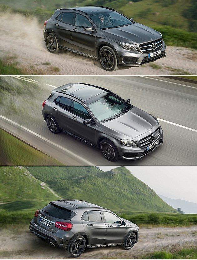 更多路段的適應,GLA-Class能吸引更多年輕消費者。 M-Benz