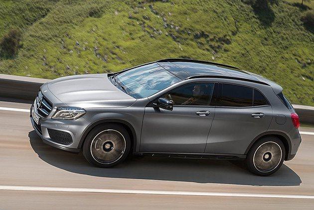 賓士GLA-Class。 摘自Mercedes