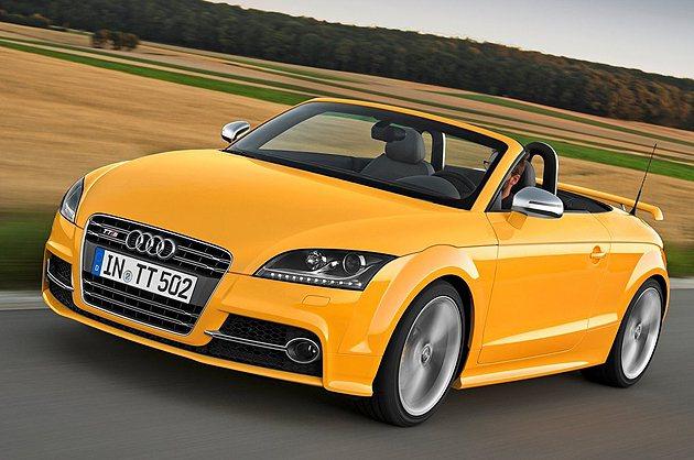 TTS Competition敞篷車有特殊的Imola黃色 Audi
