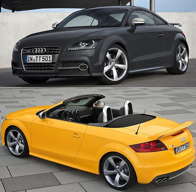 TTS Competition雙車型共五百台限定。 Audi