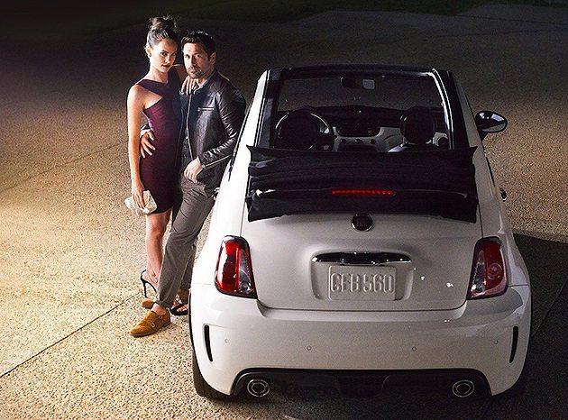 2014 Fiat 500C GQ Edition有多款顏色選擇。 Fiat