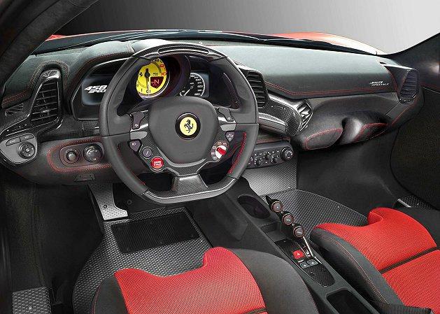 內裝的設計相當俐落前衛。 Ferrari提供